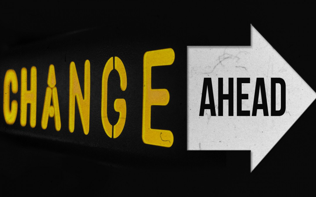 Change ahead arrow