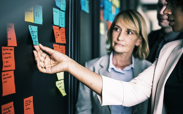 Women making decisions